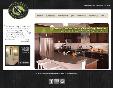 Home page for Bay Area contractors  /  2011