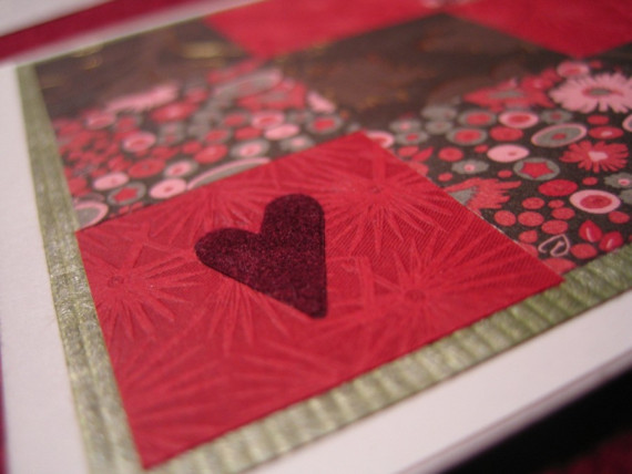 love folded card